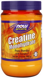 NOW Creatine Monohydrate Powder (600 гр)